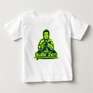 Zen do surf camiseta para bebê