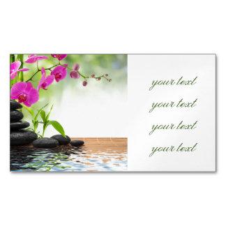 zen, paz, orquídea cor-de-rosa, bonita, termas,