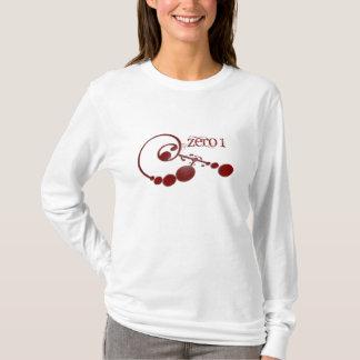 ZERO 1 camisa do sangue das mulheres