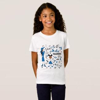 Zeta futuro na camisa da beta menina da phi do