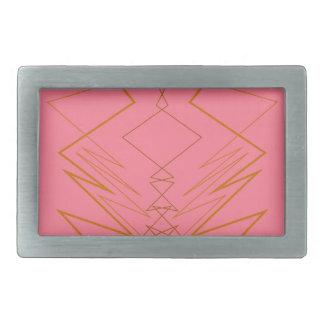 Ziguezague cor-de-rosa do ouro dos elementos do