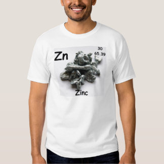 zinco camiseta