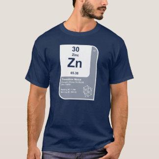 Zinco (Zn) Camiseta