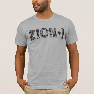 Zion eu alinho o T Camiseta