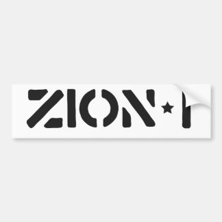 Zion-i simples adesivo para carro