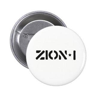 Zion-i simples bóton redondo 5.08cm