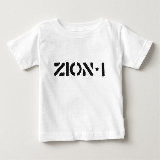 Zion-i simples camiseta para bebê