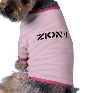 Zion-i simples camisetas para cães