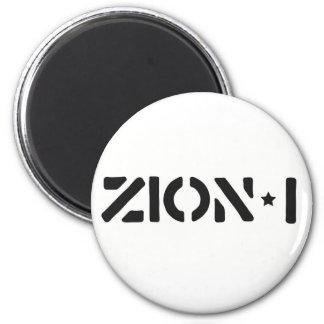Zion-i simples ímã redondo 5.08cm