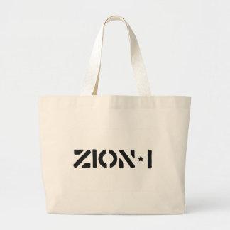 Zion-i simples sacola tote jumbo