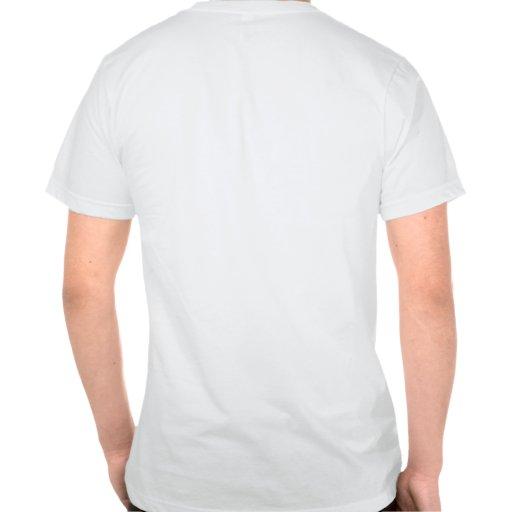 Zipper aberto t-shirts
