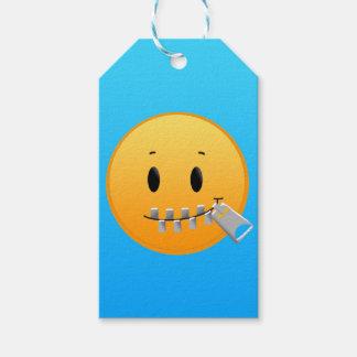 Zipper Emoji Etiqueta Para Presente