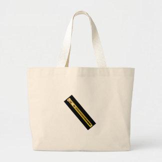 Zipper o cobre amarelo preto 40FV O MUSEU Zazzle Bolsa