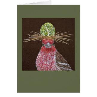 Zippy o cartão do passarinho de casa