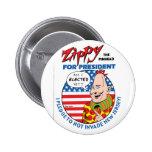 Zippy para o presidente! boton