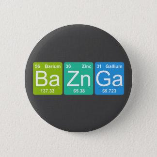 Zn GA dos vagabundos! Botão dos elementos de mesa Bóton Redondo 5.08cm