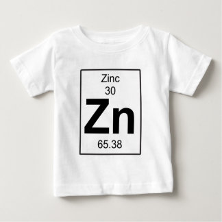 Zn - zinco camiseta