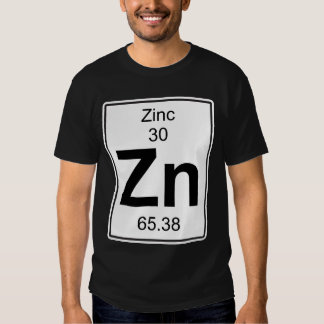 Zn - zinco camisetas