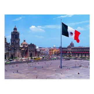 Zocalo, Cidade do México, México Cartão Postal