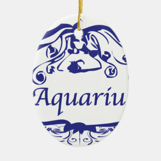 Zodíaco do Aquário Enfeite Para Arvore De Natal