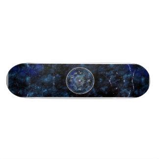 zodíaco shape de skate 21,6cm