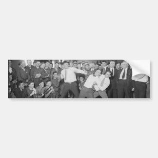 Zombaria de Jack Dempsey que luta contra Harry Hou Adesivo Para Carro