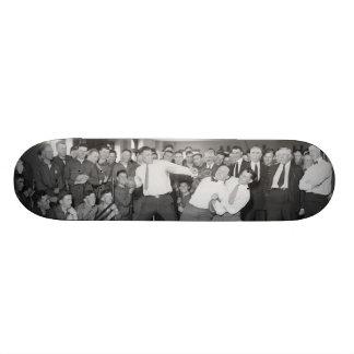 Zombaria de Jack Dempsey que luta contra Harry Hou Shape De Skate 19,7cm