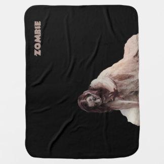 Zombi casado cobertor de bebe