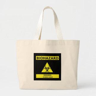 Zombi do Biohazard Bolsa De Lona