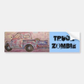 Zombi do caminhão adesivo para carro