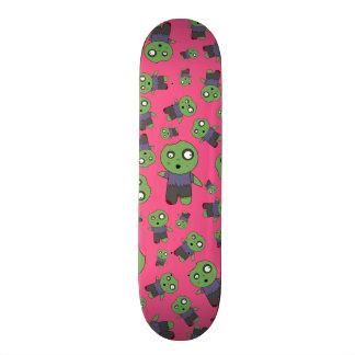 Zombis cor-de-rosa shape de skate 20,6cm