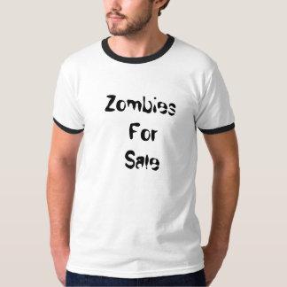 Zombis para o t-shirt da venda camiseta