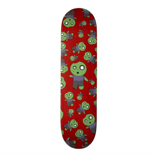 Zombis vermelhos skate boards