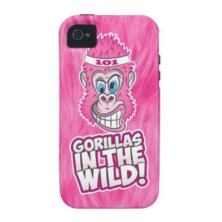 ZOMG, gorila no selvagem Capa Para iPhone 4/4S