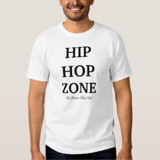 Zona de Hip Hop, logotipo da zona de Hip Hop, T-shirts