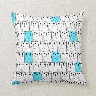 Zona dos gatos! travesseiro de decoração