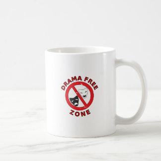 Zona franca do drama caneca de café