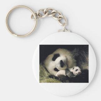 zoo-atlanta_giant_panda_lun-lun_and_cub chaveiro