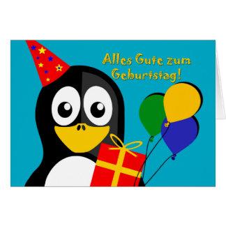Zum Geburtstag de Alles Gute, desejo do Cartão Comemorativo