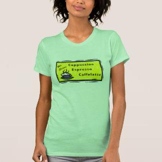 Zumbido do Cappuccino Camisetas
