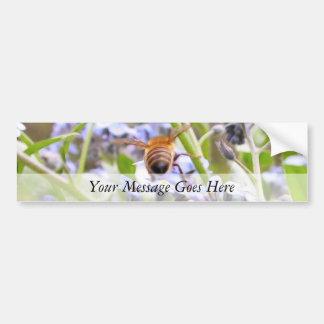 Zumbido!  Parte traseira da abelha ocupada Adesivo Para Carro
