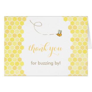 zumbindo por cartões de agradecimentos, obrigado