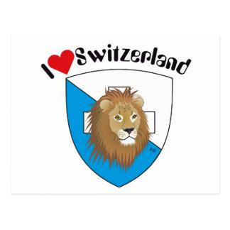 Zurique Suíça cartão postal