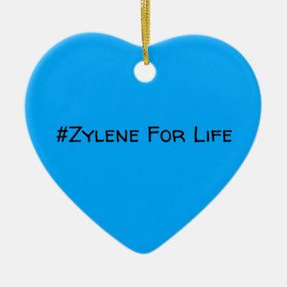 #Zylene para o ornamento da vida (azul!)