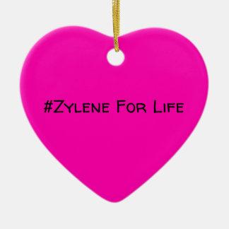 #Zylene para o ornamento da vida (rosa!)